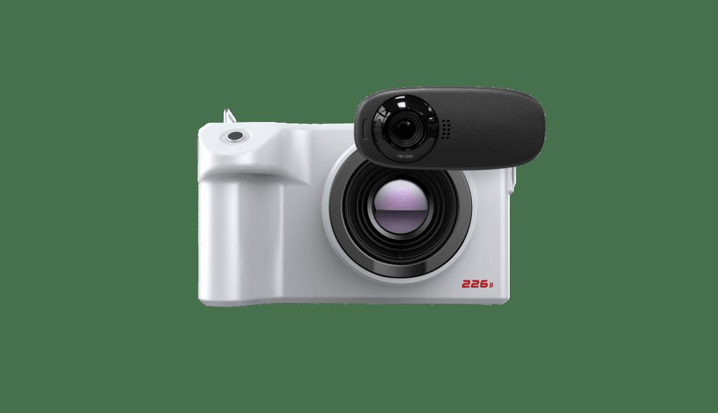 Wärmebildkamera FOTRIC 226B Frontansicht